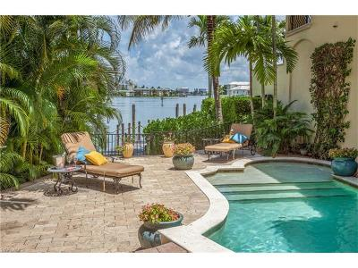 Naples Single Family Home For Sale: 201 Harbour Dr #8