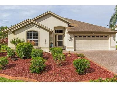 Estero Single Family Home Pending With Contingencies: 22854 Fountain Lakes Blvd