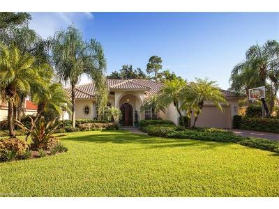 Naples Single Family Home For Sale: 8151 Wilshire Lakes Blvd