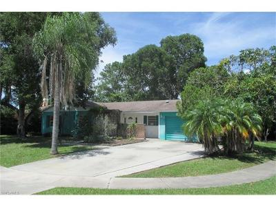 Naples Single Family Home For Sale: 3322 Poinciana St
