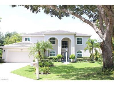 Naples Single Family Home For Sale: 8023 San Simeon Way