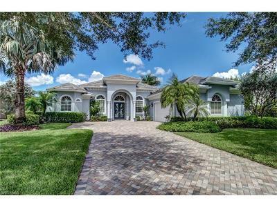 Naples Single Family Home For Sale: 292 Saddlebrook Ln