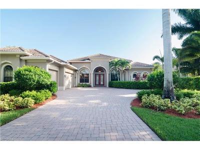 Naples Single Family Home For Sale: 14677 Beaufort Cir