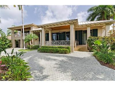 Naples FL Single Family Home Pending With Contingencies: $3,495,000