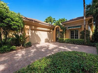 Naples Single Family Home For Sale: 15714 Villoresi Way
