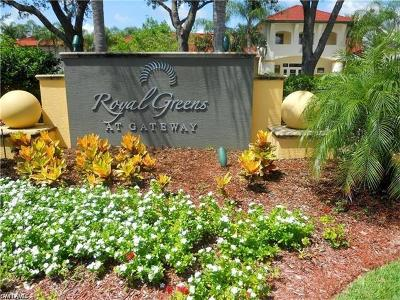 Fort Myers Condo/Townhouse For Sale: 11500 Villa Grand E #320