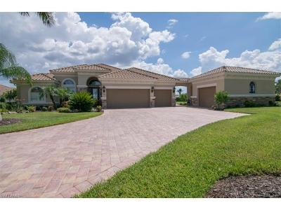 Naples Single Family Home For Sale: 9341 Quarry Dr