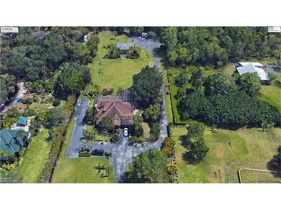 Naples Single Family Home Pending With Contingencies