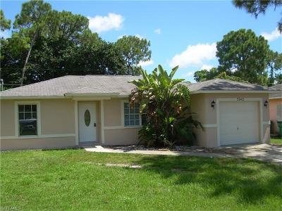 Naples Single Family Home For Sale: 5342 Catts St