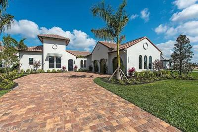 Naples Single Family Home For Sale: 3247 Tavolara Ln