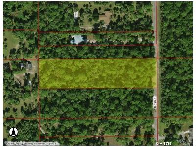 Collier County Residential Lots & Land For Sale: 1st St NW