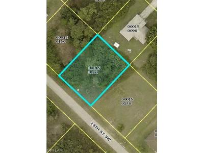 Lee County Residential Lots & Land For Sale: 5136/38 28th St SW