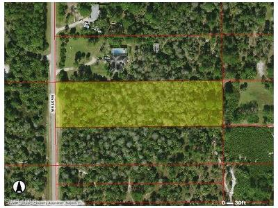 Collier County Residential Lots & Land For Sale: 0000 6th St NW