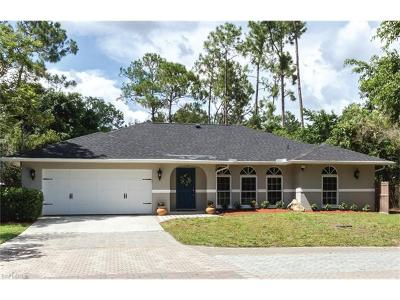 Naples Single Family Home For Sale: 5171 Teak Wood Dr