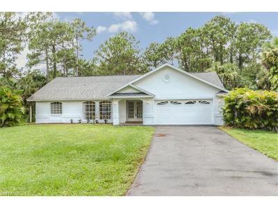 Golden Gate Estates Single Family Home For Sale: 741 4th St NE