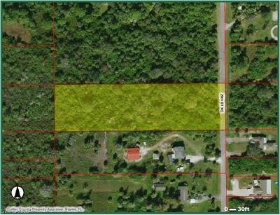 Collier County Residential Lots & Land For Sale: 821 20th St NE
