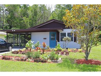 Naples Single Family Home For Sale: 2820 Ponce De Leon Dr