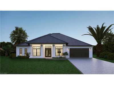 Golden Gate Estates Single Family Home For Sale: 3234 22 Ave SE