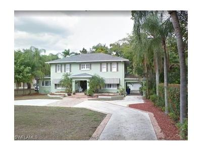 Fort Myers Single Family Home For Sale: 1417 Steele St