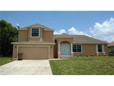 Cape Coral Single Family Home Pending With Contingencies: 1027 SW 8th Ct