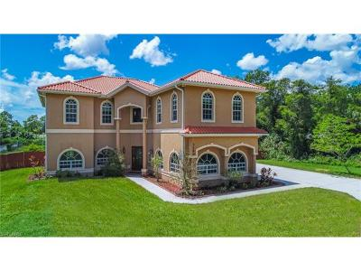 Naples FL Single Family Home Pending With Contingencies: $625,000