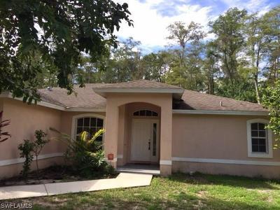 Naples FL Single Family Home For Sale: $270,000