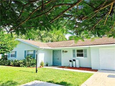 Naples Single Family Home For Sale: 4540 Robin Ave