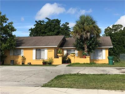 Naples Multi Family Home Pending With Contingencies