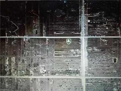 Collier County Residential Lots & Land For Sale: 3065 Everglades Blvd N