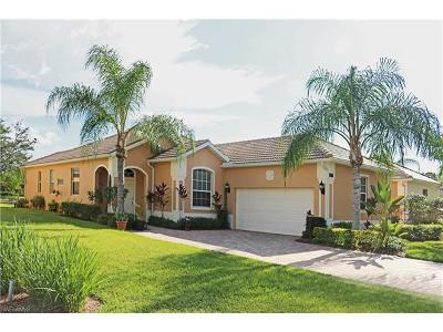 Naples Single Family Home For Sale: 15444 Cortona Way