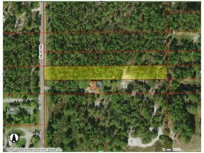 Collier County Residential Lots & Land For Sale: 16th St NE