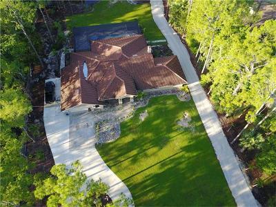 Naples Single Family Home For Sale: 6130 Standing Oaks Ln