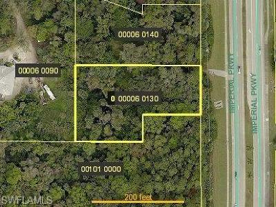 Bonita Springs Residential Lots & Land For Sale: 27100 Imperial Pky