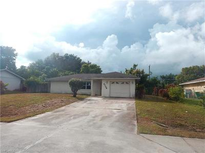 Collier County, Lee County Single Family Home For Sale: 4736 25th Pl SW