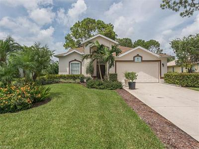 Naples  Single Family Home For Sale: 137 Palmetto Dunes Cir