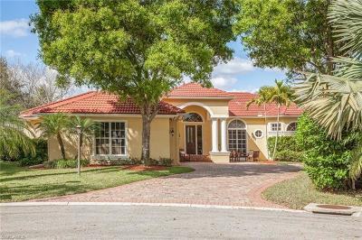 Naples Single Family Home For Sale: 8115 Costa Brava Ct