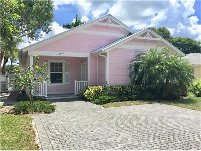 Naples Park Single Family Home Pending With Contingencies: 860 98th Ave N