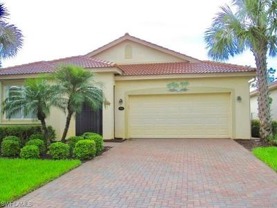 Estero Single Family Home For Sale: 21682 Belvedere Ln