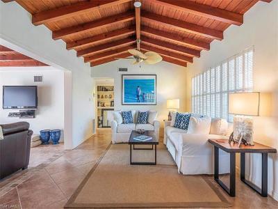 Olde Naples Single Family Home For Sale: 696 3rd St N