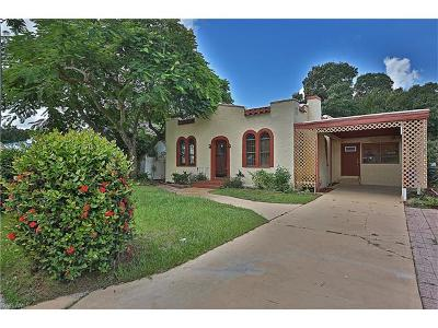 Fort Myers Single Family Home For Sale: 2908 Nelson St
