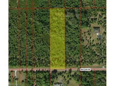 Naples Residential Lots & Land For Sale: Xxx 20th Ave SE