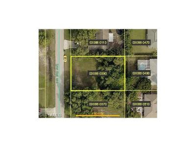 Lee County Residential Lots & Land For Sale: 1813 SW 3rd Ave