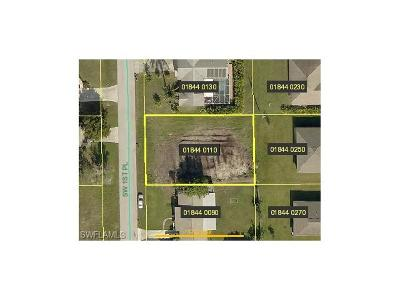 Lee County Residential Lots & Land For Sale: 2931 SW 1st Pl