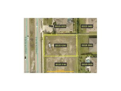 Lee County Residential Lots & Land For Sale: 4121 Chiquita Blvd S