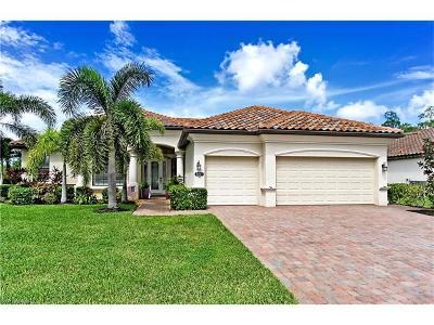 Naples Single Family Home For Sale: 3807 Treasure Cove Cir