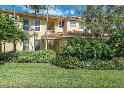 Naples Condo/Townhouse For Sale: 1875 Les Chateaux Blvd #201