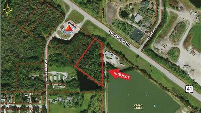 Naples Residential Lots & Land For Sale: 2+/- Acres Tamiami Trail East