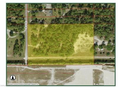 Naples Residential Lots & Land For Sale: 10th St NE