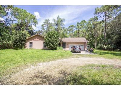 Naples Single Family Home For Sale: 5721 Golden Oaks Ln