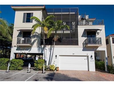 Naples Condo/Townhouse For Sale: 340 12th Ave S #6